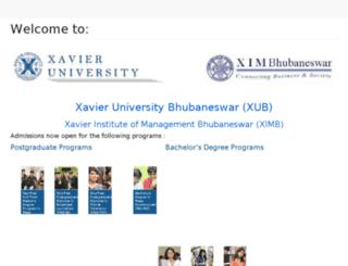 forms.ximb.ac.in screenshot