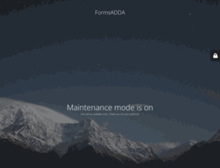 formsadda.com screenshot