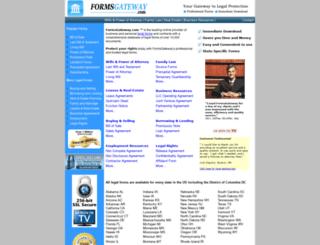 formsgateway.com screenshot