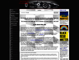 formula1-dictionary.net screenshot