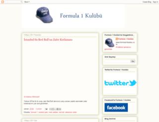 formula1kulubu.blogspot.com screenshot