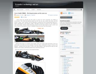 formula1techandart.wordpress.com screenshot