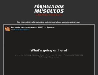 formuladosmusculo.com screenshot