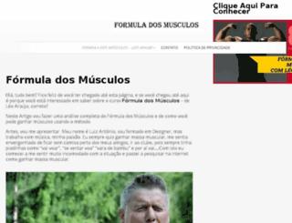 formuladosmusculos.info screenshot