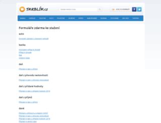 formulare-ke-stazeni-zdarma.cz screenshot