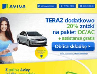 formularze-aviva.pl screenshot