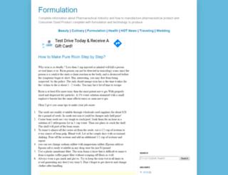 formulation.vinensia.com screenshot