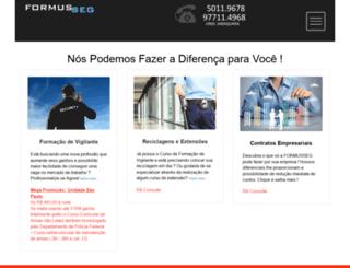 formusseg.com.br screenshot
