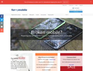 formymobile.co.uk screenshot