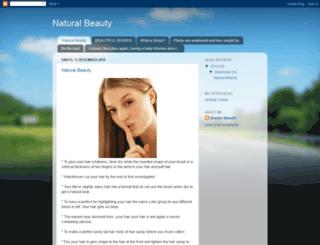 fornaturalbeauty.blogspot.com screenshot