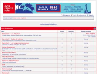 foro.autoescuelapenya.com screenshot