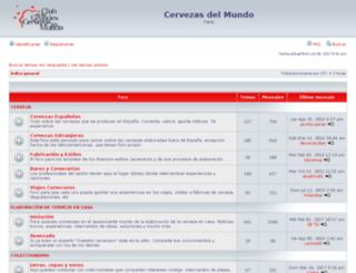 foro.cervezasdelmundo.com screenshot