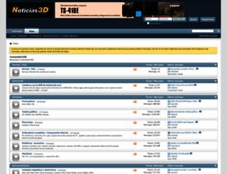 foro.noticias3d.com screenshot