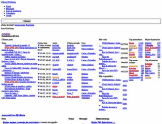 foro.pesretro.net screenshot