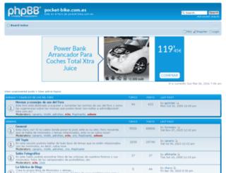 foro.pocket-bike.com.es screenshot