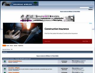 foro.seguridadwireless.net screenshot