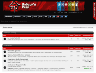 foro.shogunsfate.com screenshot