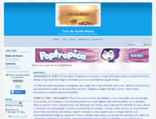foroabretumente.fororama.com screenshot