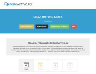 foroactivo.mx screenshot