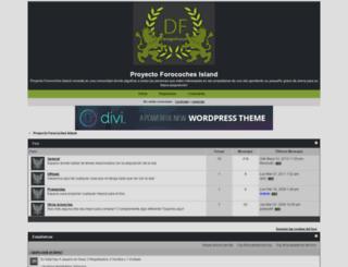 forocochesisland.forumotion.net screenshot
