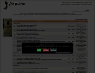 foroflamenco.com screenshot