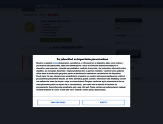 forogratis.es screenshot