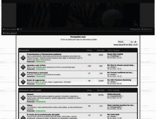 foropadel.com screenshot