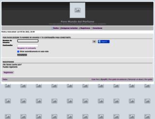 foroperfumesfraganc.foroactivo.com screenshot