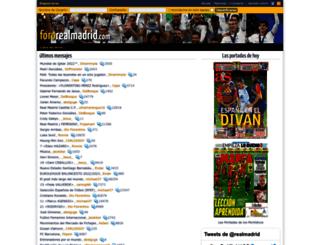 fororealmadrid.com screenshot