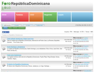 fororepublicadominicana.com screenshot