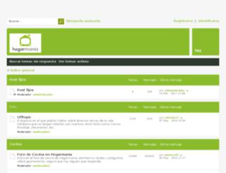 foros.hogarutil.com screenshot