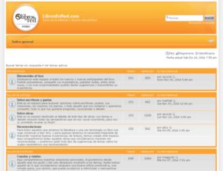 foros.librosenred.com screenshot