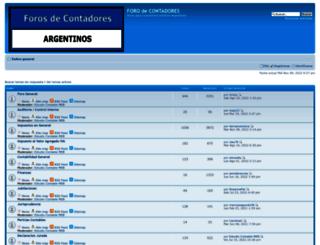 forosdecontadores.com.ar screenshot