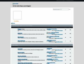 forosdelblog.com screenshot
