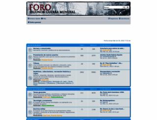 forosegundaguerra.com screenshot