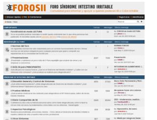 forosii.com screenshot