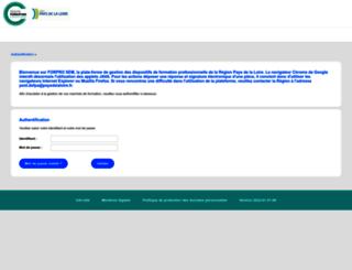 forpro-sem.paysdelaloire.fr screenshot