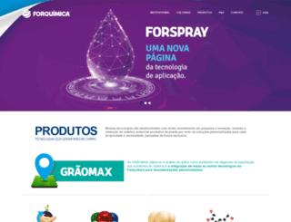 forquimica.com.br screenshot