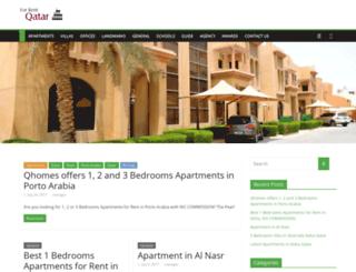 forrentinqatar.com screenshot