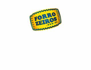 forrozeiros.com.br screenshot