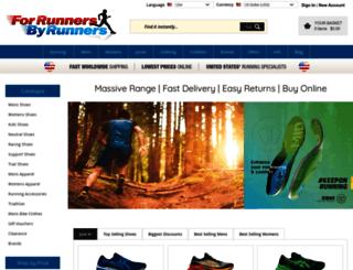 forrunnersbyrunners.com screenshot