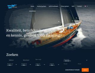 forsailyachtbrokers.nl screenshot