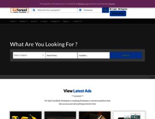 forsale.co.zw screenshot