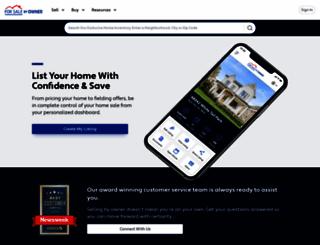 forsalebyowner.com screenshot