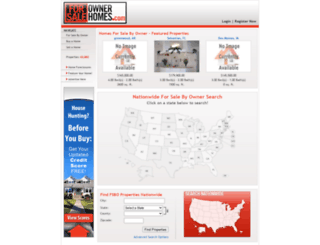 forsaleownerhomes.com screenshot