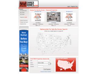 forsaleownerhomes.com screenshot