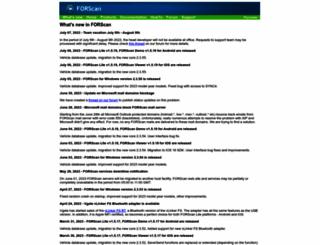 forscan.org screenshot