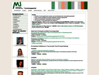 forschung.medunigraz.at screenshot