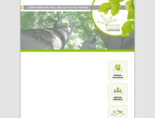 forstundholz-ufr.de screenshot