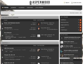 fort-aspenwood.com screenshot